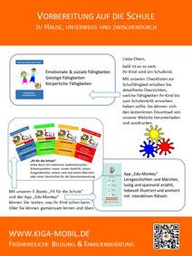 Apps und E-Books für Kinder und Vorschulkinder von Kiga-mobil - Poster