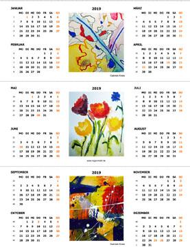 Kostenloser Tischkalender von KiGa Mobil