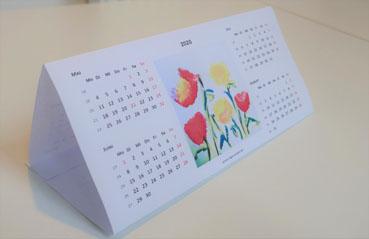 Tischkalender 2020 kostenlos ausdrucken